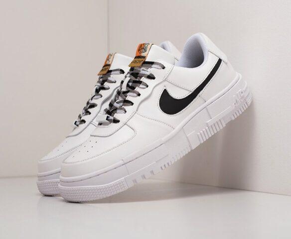Nike Air Force 1 Pixel Low white белые