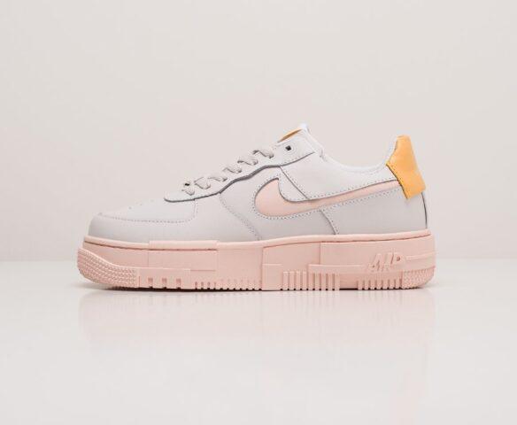 Nike Air Force 1 Pixel Low белые wmn. Вид 2