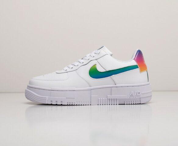 Nike Air Force 1 Pixel Low белые. Вид 2