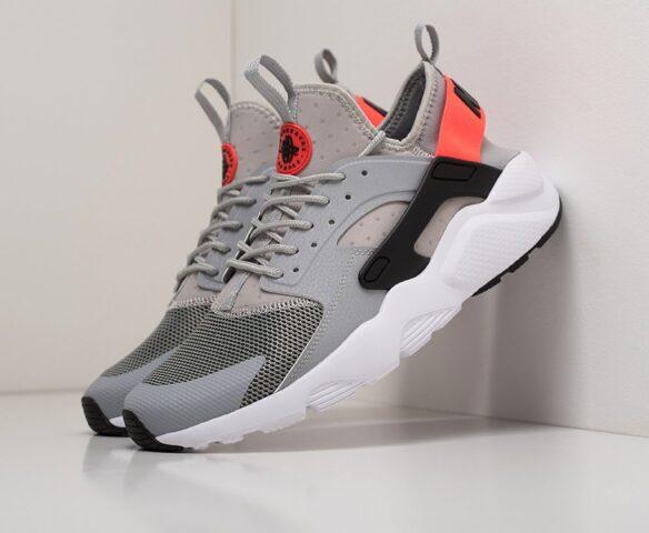 Nike Air Huarache Ultra серые. Вид 1