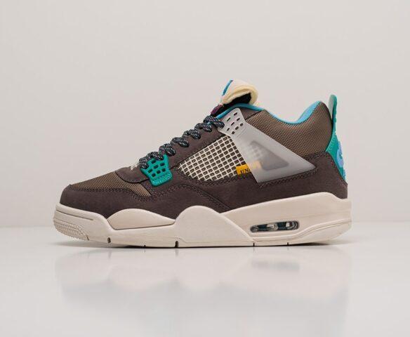 Nike Air Jordan 4 Retro серые. Вид 2