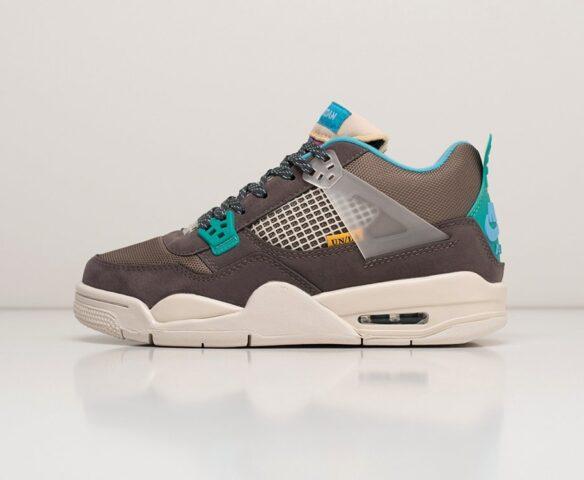 Nike Air Jordan 4 Retro grey wmn. Вид 2