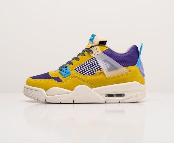 Nike Air Jordan 4 Retro multicolored. Вид 2