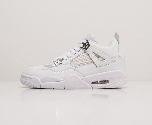Nike Air Jordan 4 Retro серые wmn. Вид 2
