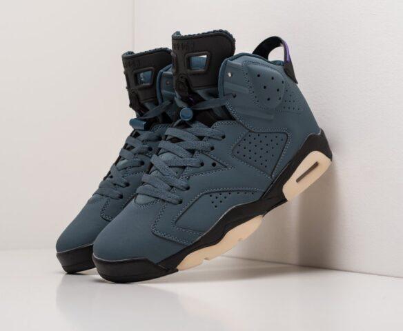 Nike Air Jordan 6 синие