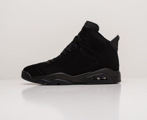Nike Air Jordan 6 черные man. Вид 2