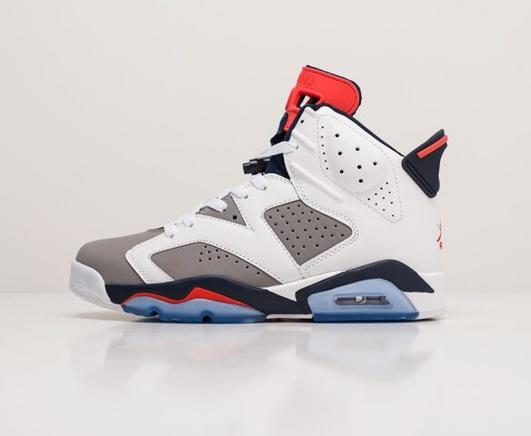 Nike Air Jordan 6 white. Вид 2
