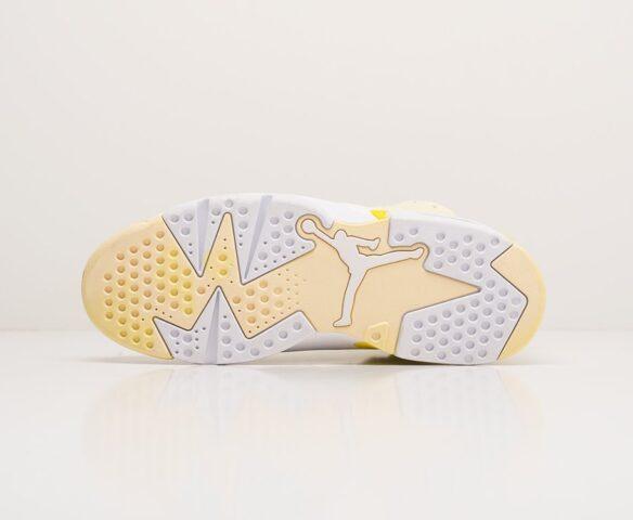 Nike Air Jordan 6 желтые. Вид 5