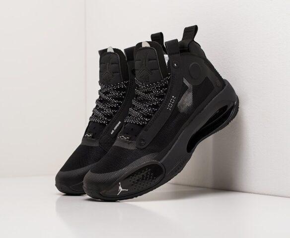Nike Air Jordan XXXIV black-черные. Вид 1