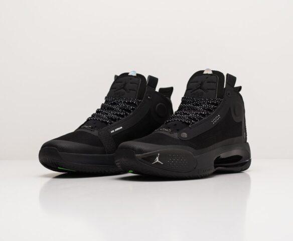 Nike Air Jordan XXXIV black-черные. Вид 2