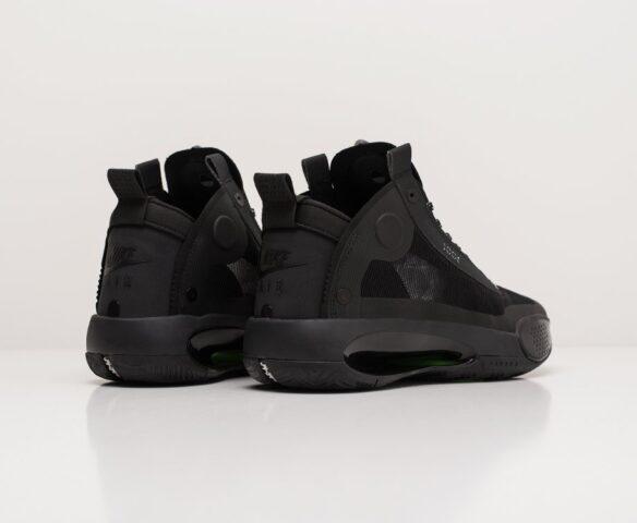 Nike Air Jordan XXXIV black-черные. Вид 3