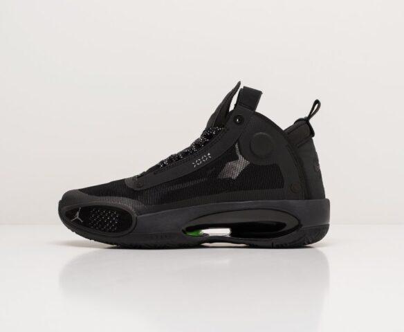 Nike Air Jordan XXXIV black-черные. Вид 6