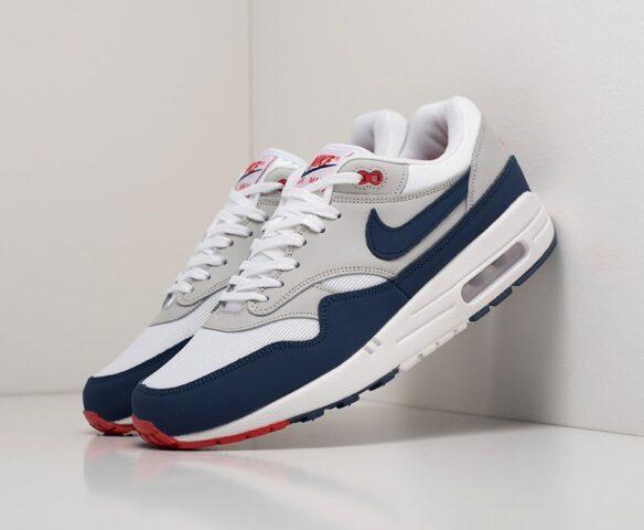 Nike Air Max 1 grey. Вид 1