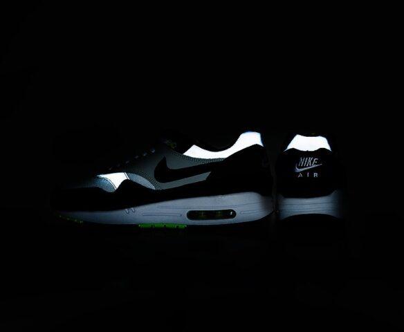 Nike Air Max 1 серые man. Вид 3