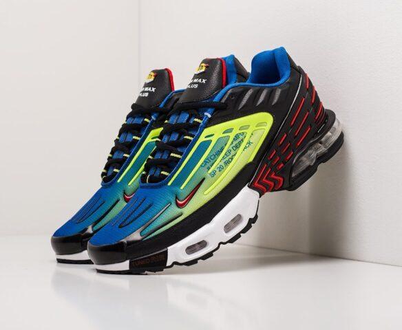 Nike Air Max Plus 3 разноцветные. Вид 1