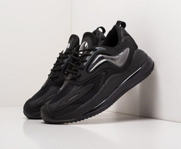 Nike Air Max Zephyr черные. Вид 1