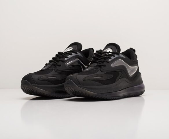Nike Air Max Zephyr черные. Вид 3