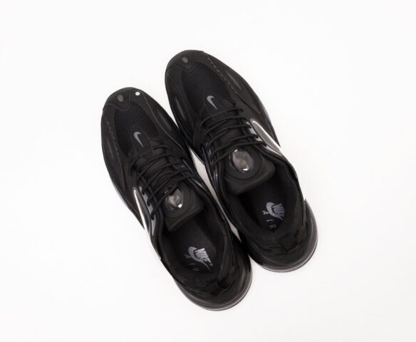 Nike Air Max Zephyr черные. Вид 6