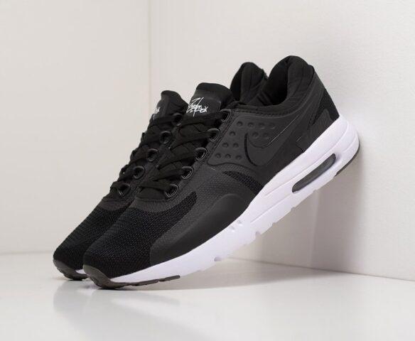 Nike Air Max Zero черные. Вид 1