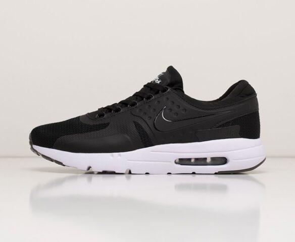 Nike Air Max Zero черные. Вид 2