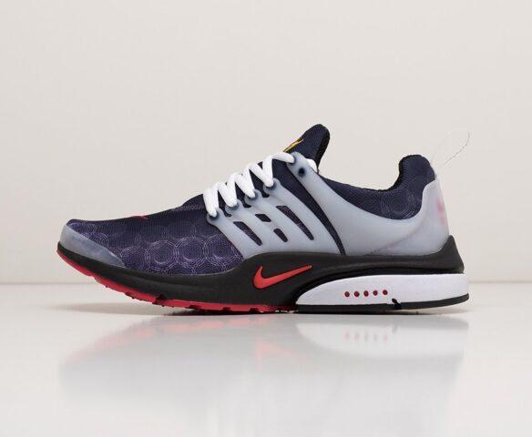 Nike Air Presto Llow Utility фиолетовые. Вид 2
