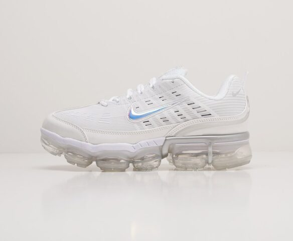 Nike Air VaporMax 360 white белые. Вид 2