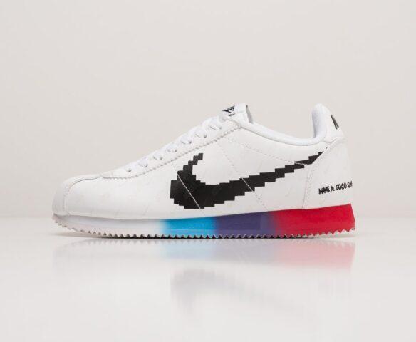 Nike Classic Cortez white. Вид 2