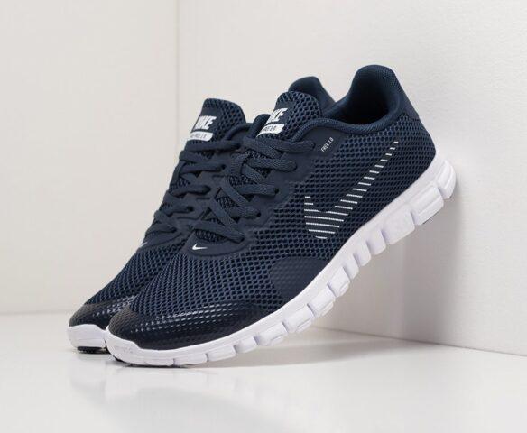 Nike Free 3.0 V2 blue. Вид 1