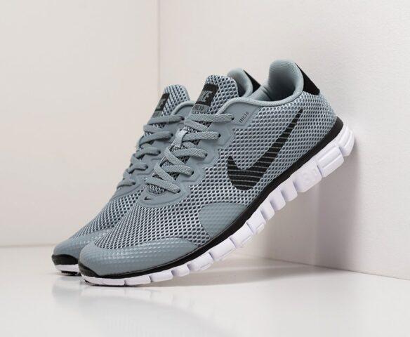 Nike Free 3.0 V2 grey. Вид 1