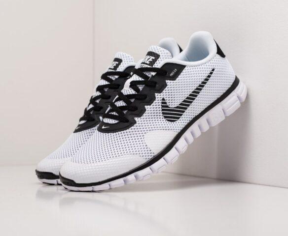 Nike Free 3.0 V2 white. Вид 1