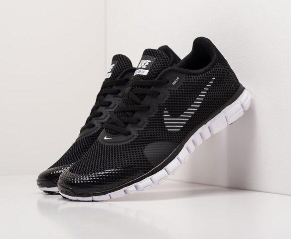 Nike Free 3.0 V2 black. Вид 1