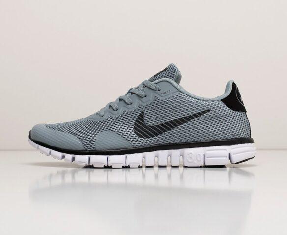 Nike Free 3.0 V2 grey. Вид 2