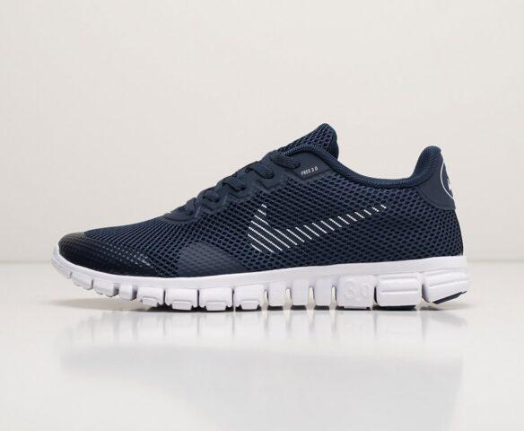 Nike Free 3.0 V2 blue. Вид 2