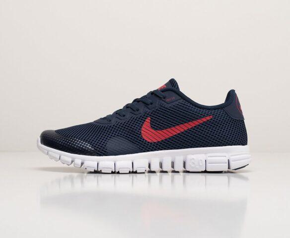 Nike Free 3.0 V2 синие. Вид 2
