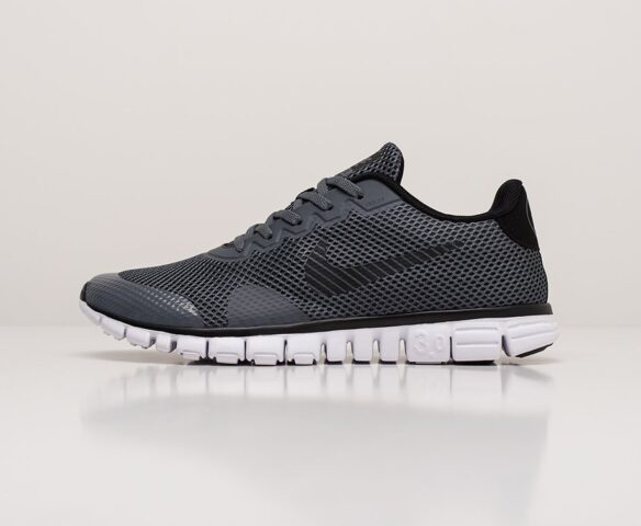 Nike Free 3.0 V2 серые. Вид 2