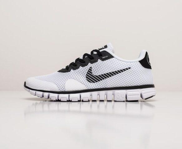 Nike Free 3.0 V2 white. Вид 2
