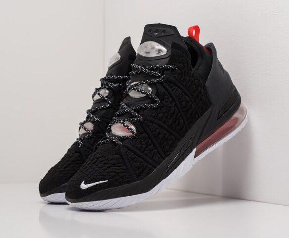 Nike Lebron XVIII черные man. Вид 1