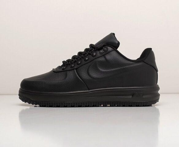 Nike Lunar Force 1 Duckboot Low черные. Вид 2