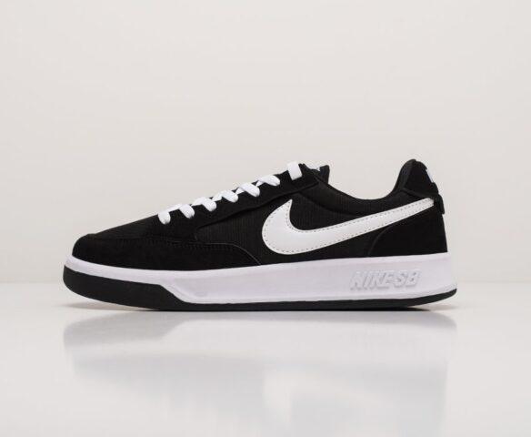 Nike SB Adversary PRM черные. Вид 2