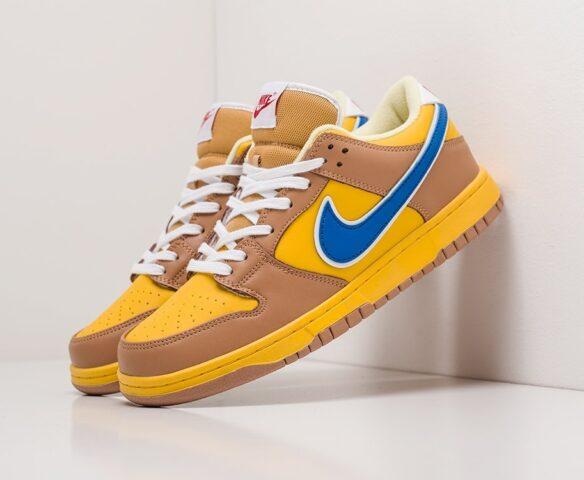 Nike SB Dunk Low коричневые