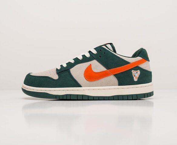 Nike SB Dunk Low green. Вид 2