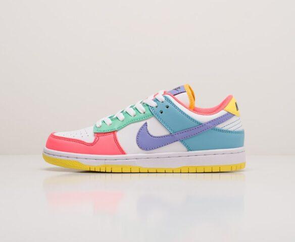 Nike SB Dunk Low разноцветные wmn. Вид 2