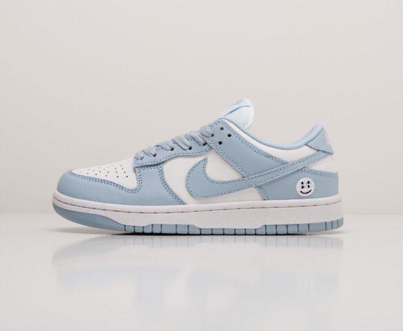 Nike SB Dunk Low blue. Вид 2