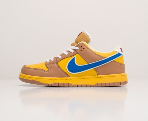 Nike SB Dunk Low коричневые. Вид 2