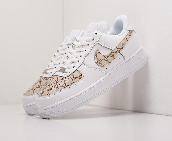 Nike x Gucci Air Force 1 Low белые