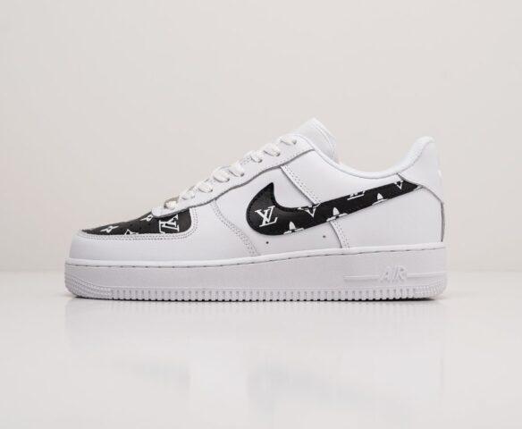 Nike x Louis Vuitton Air Force 1 Low белые. Вид 2