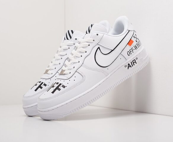 Nike x OFF-White Air Force 1 Low. Вид 1