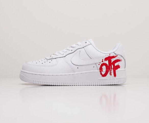 Nike x OFF-White Air Force 1 Low white. Вид 2