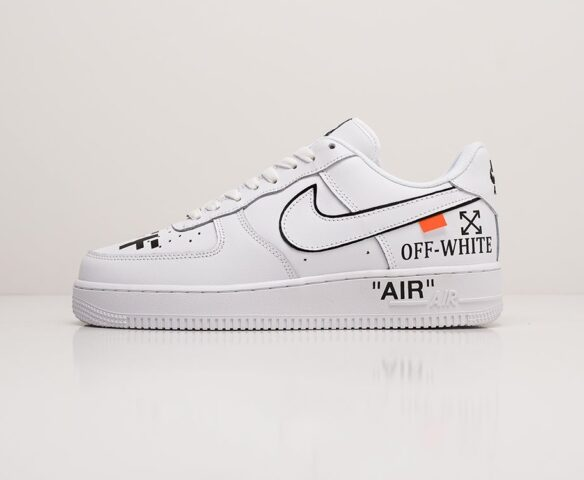 Nike x OFF-White Air Force 1 Low. Вид 2