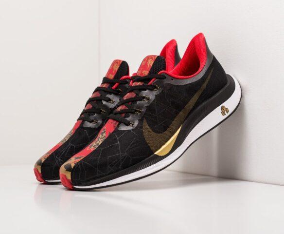Nike Zoom Pegasus 35 Turbo черные. Вид 1
